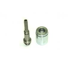 Концевик шланга DN 6 пал. 10 мм (комплект оцинковка)