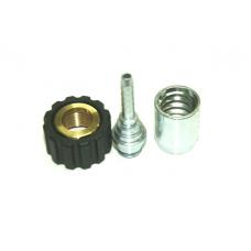 Концевик шланга DN 8 M22 x 1.5 (комплект нержавейка)