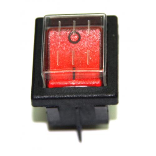 Выключатель пылесосный (Красный)