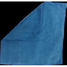 Салфетка микроволоконная,махровая(голубая)